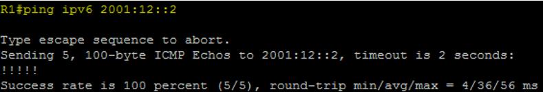 Ping IPv6