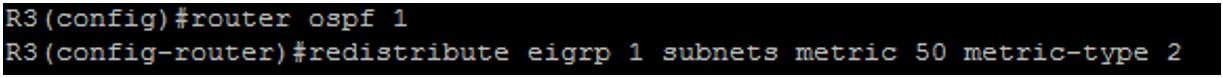 R3 OSPF Configuration