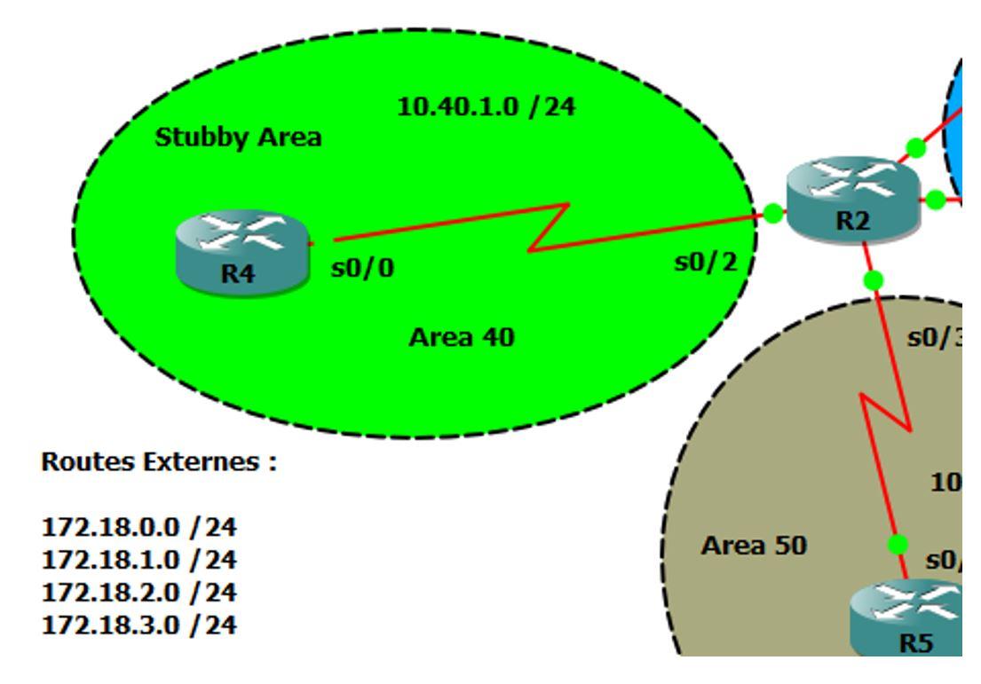 Extrait Topologie OSPF