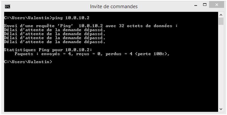 Ping 10.0.10.2