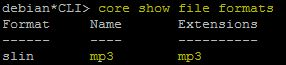 core show file formats