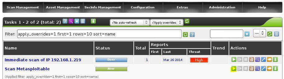 OpenVAS Scan Rapport