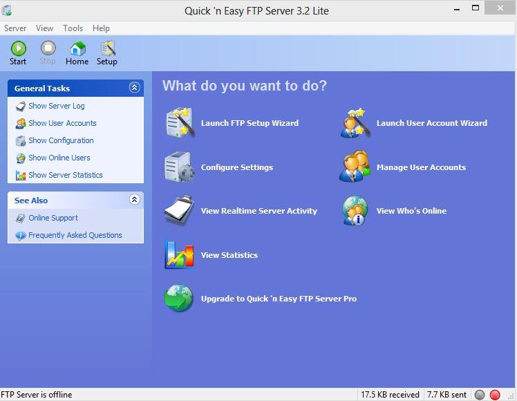 Screenshot Quick'n Easy FTP