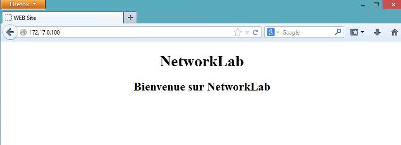 Navigation WEB